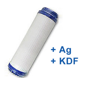 """SILVER víztisztító szűrőbetét GAC+KDF+Ezüst 10"""" UDF"""