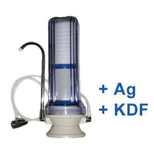 Kombinált víztisztító PP+GAC +KDF + Ezüst
