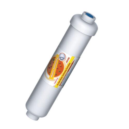In-line vízlágyító gyanta egység